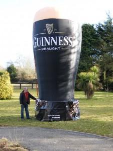 Mobile Pint Guinness